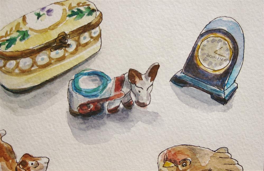 """Donkey Quest"" original fine art by Priscilla Bohlen"