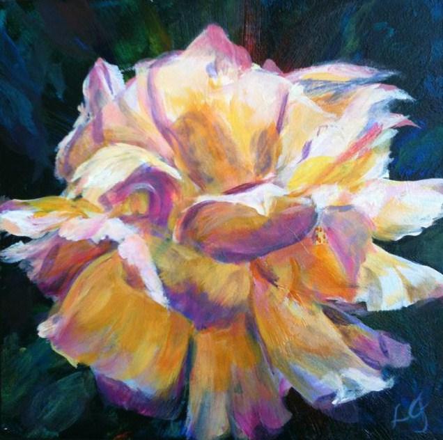 """Peace"" original fine art by Lyn Gill"