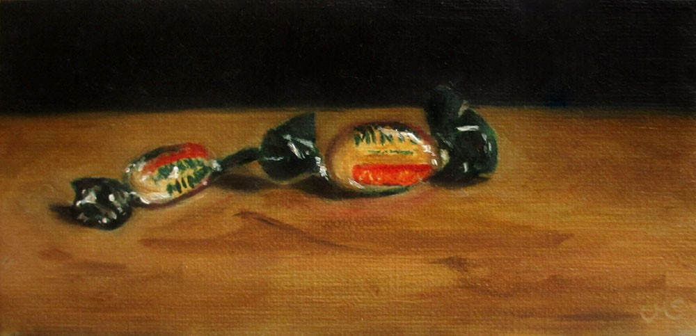 """Murray Mints"" original fine art by Ulrike Miesen-Schuermann"