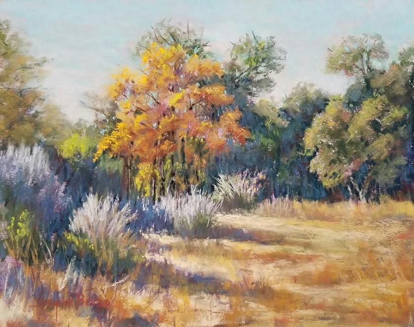 """First Color"" original fine art by Denise Beard"