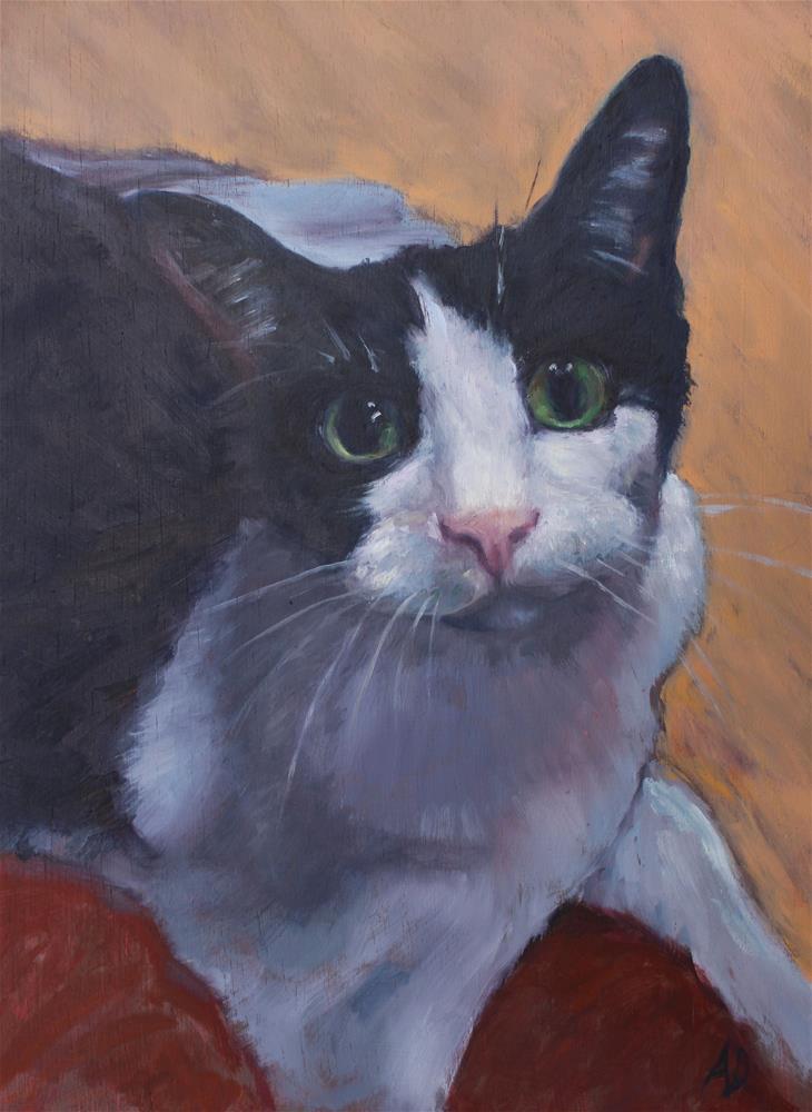 """""""Noel"""" original fine art by Allison Doke"""