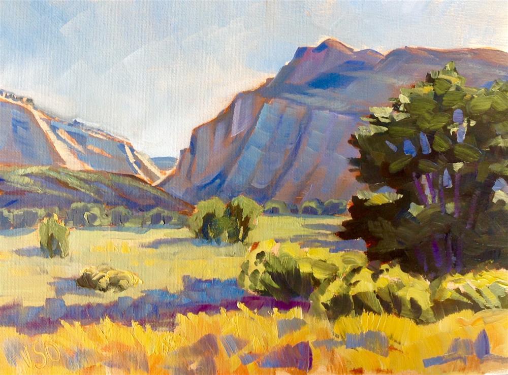 """Canyon of the Escalante"" original fine art by Valerie Orlemann"