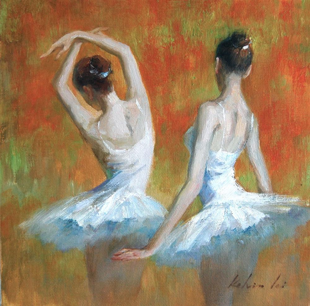 """""""Rhythm"""" original fine art by Kelvin Lei"""