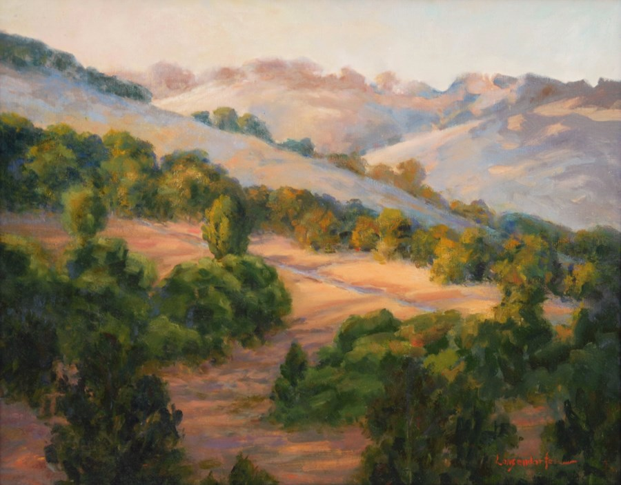 """MORNING LIGHT"" original fine art by Dj Lanzendorfer"