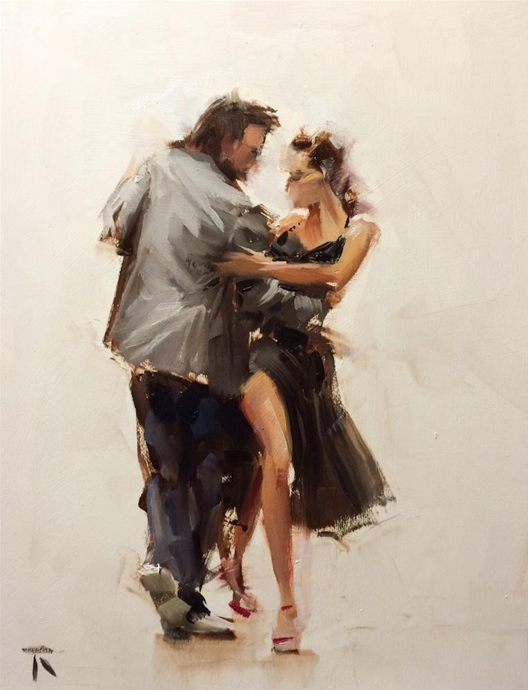 """Tanda Part 2"" original fine art by Thomas Ruckstuhl"