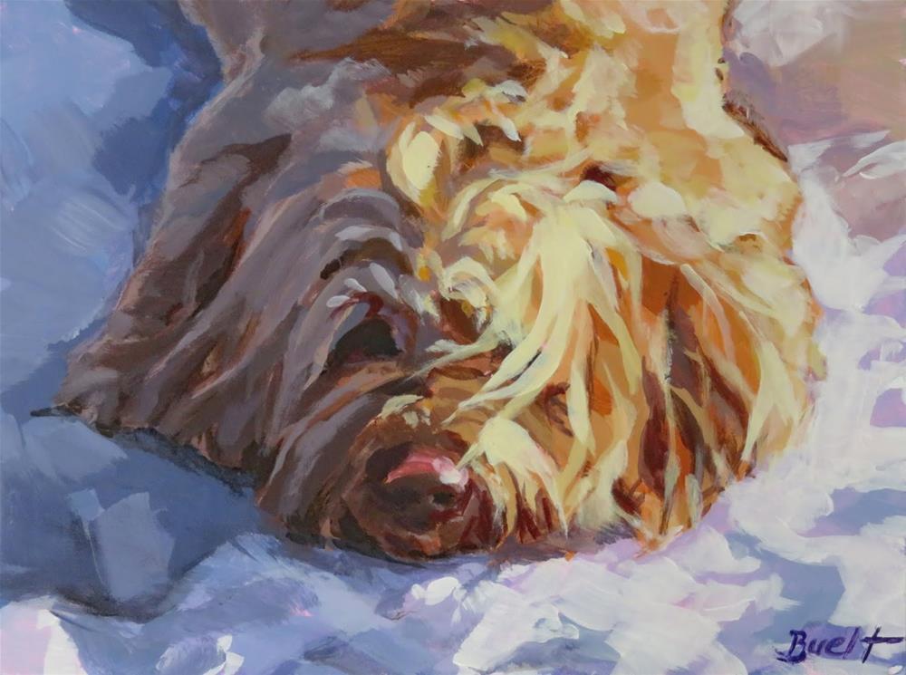 """""""Cooling Off"""" original fine art by Shari Buelt"""