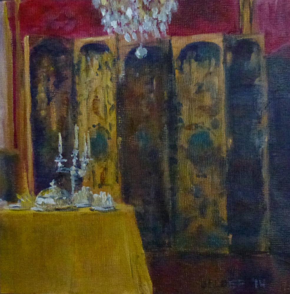 """Paris No. 59"" original fine art by Judith Elder"