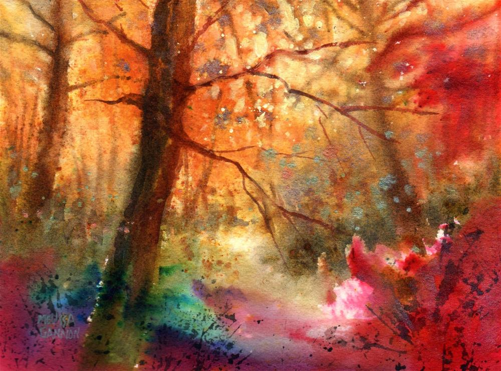 """Magic Place"" original fine art by Melissa Gannon"