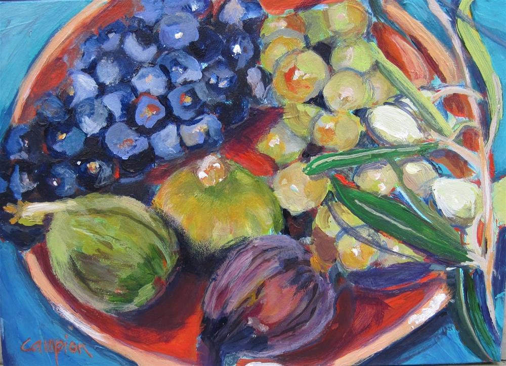 """California Treasures"" original fine art by Diane Campion"