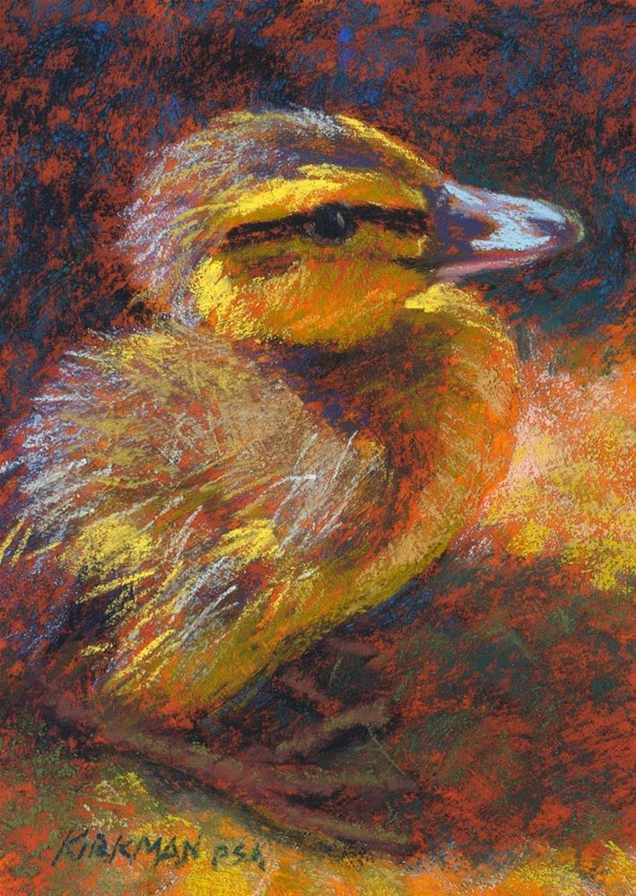 """Duckling - in AIS Exhibit"" original fine art by Rita Kirkman"