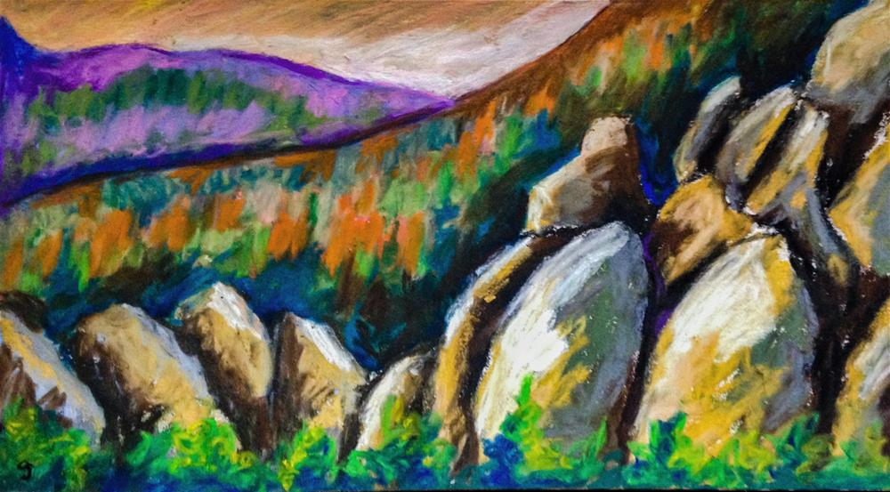 """Black Hills, South Dakota"" original fine art by Giovanni Antunez"