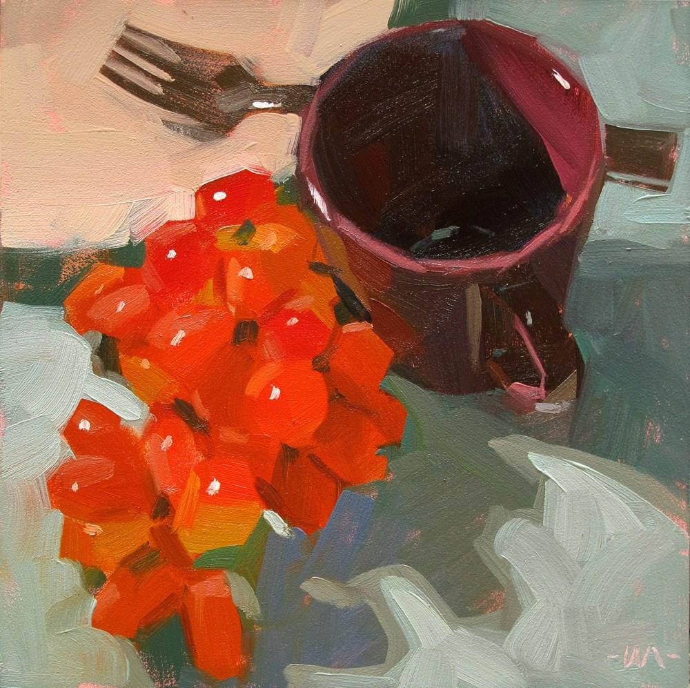 """""""Unforkettable"""" original fine art by Carol Marine"""