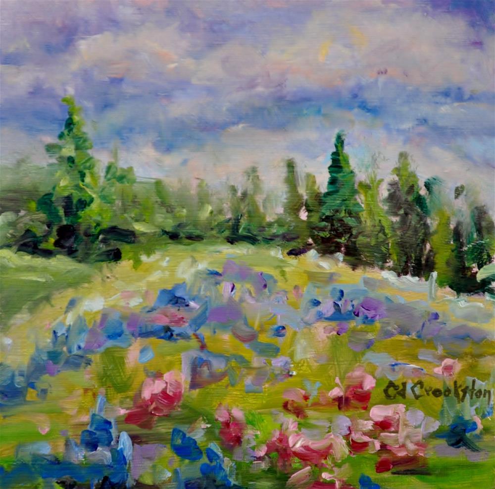 """Mountain Splender"" original fine art by Catherine Crookston"