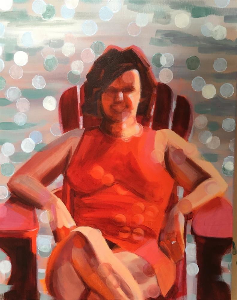 """""""Sparkle"""" original fine art by Bev Thibault"""