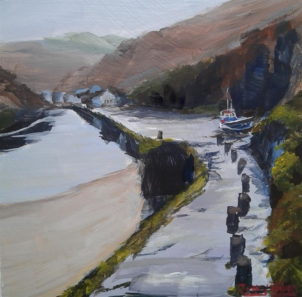 """Boscastle"" original fine art by Jenny Kinberg"