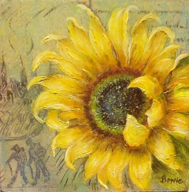 """To My Dear Friend"" original fine art by Maureen Bowie"