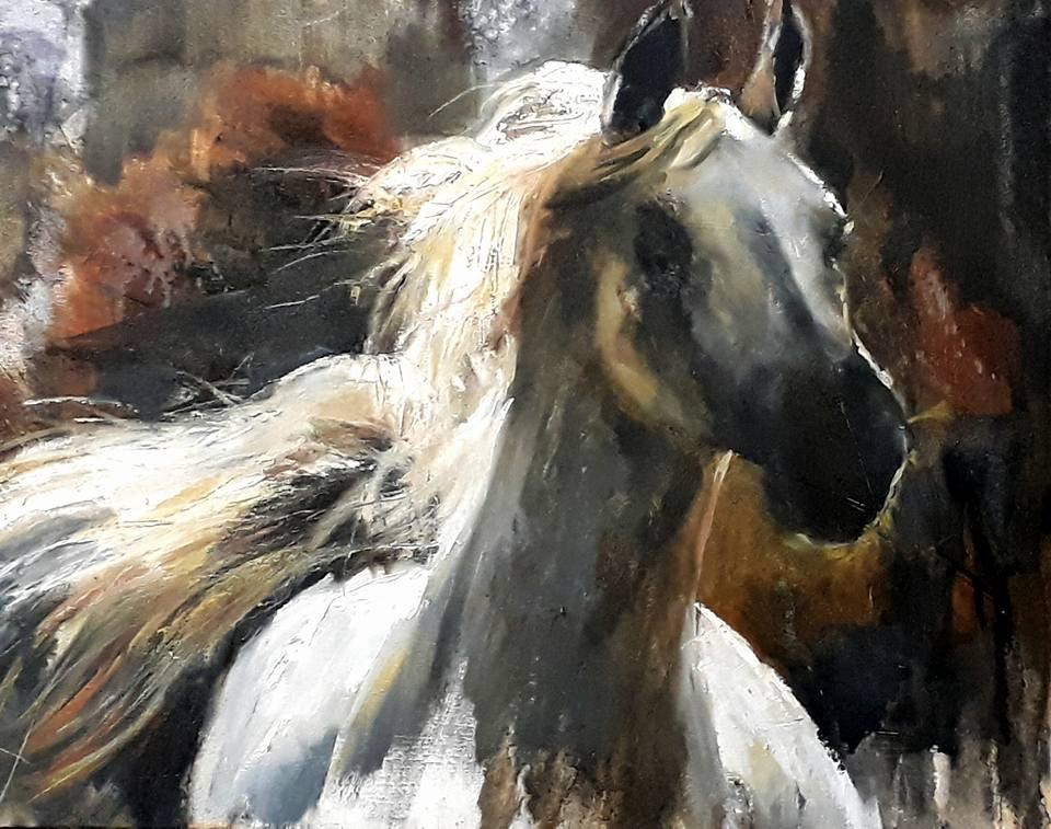"""Let loose"" original fine art by Rentia Coetzee"