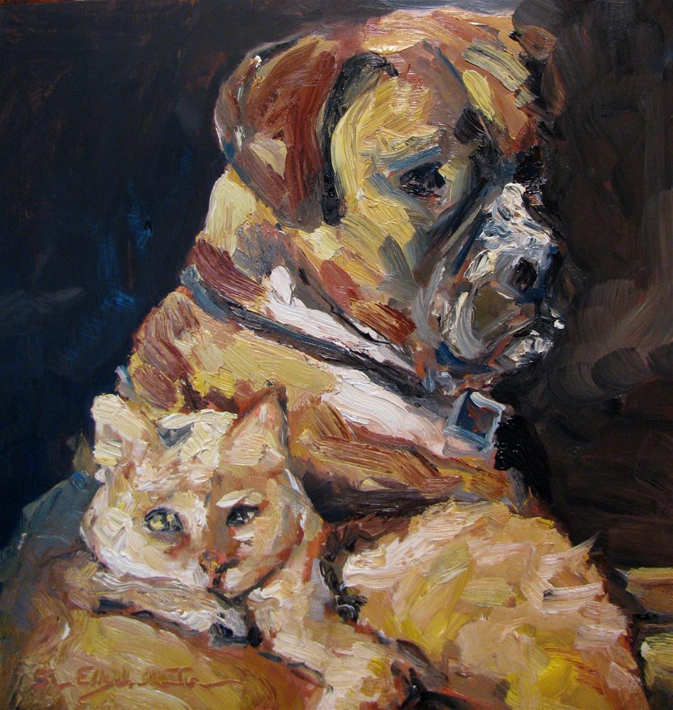 """Harmony"" original fine art by Susan Elizabeth Jones"