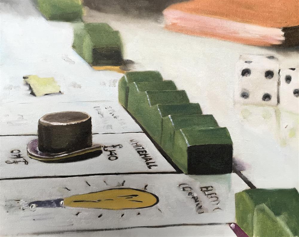 """""""Monopoly"""" original fine art by James Coates"""
