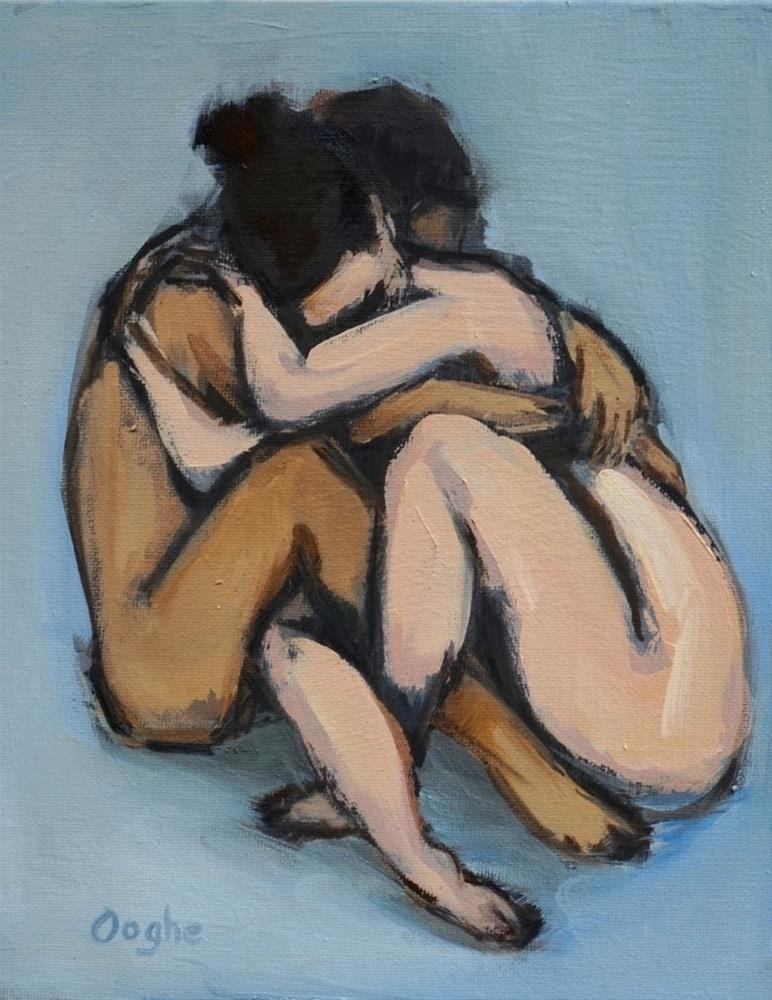 """""""Entwined"""" original fine art by Angela Ooghe"""