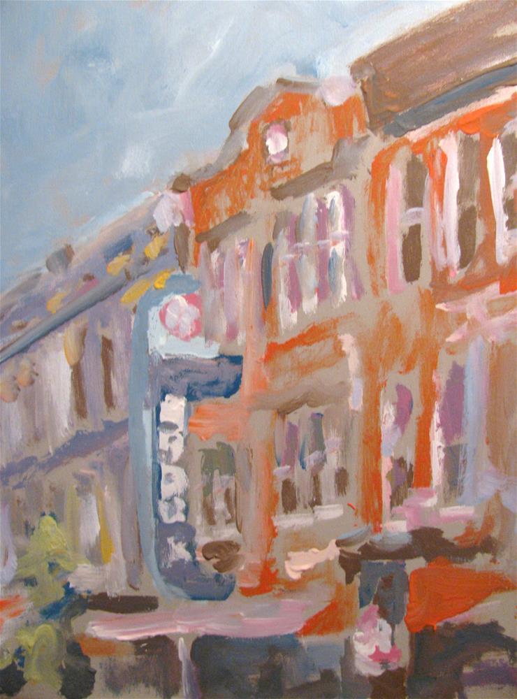 """Gray's"" original fine art by Susan Elizabeth Jones"