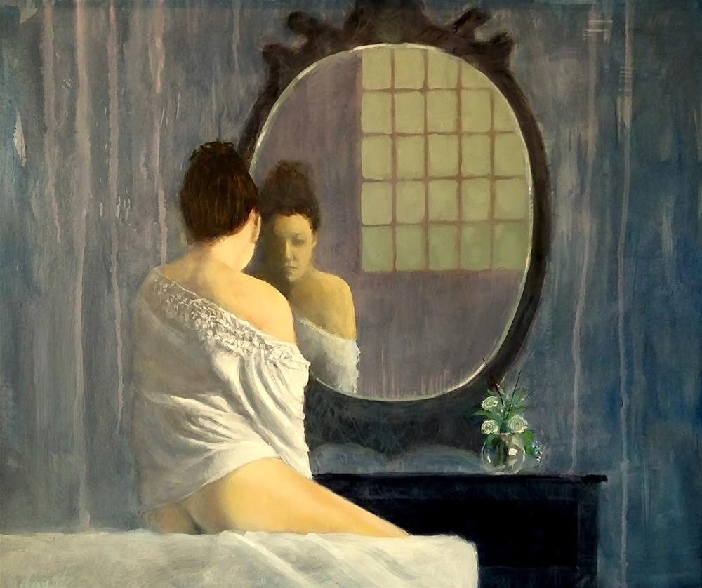 """Vanity"" original fine art by David Larson Evans"