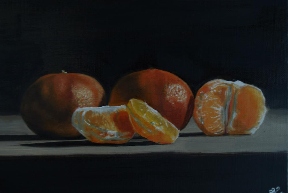 """Satsumas"" original fine art by James Coates"