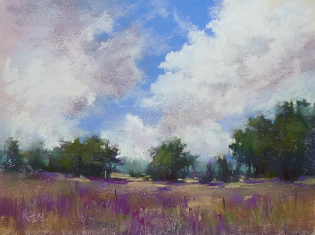 """""""Are Clouds Always Colorful?"""" original fine art by Karen Margulis"""