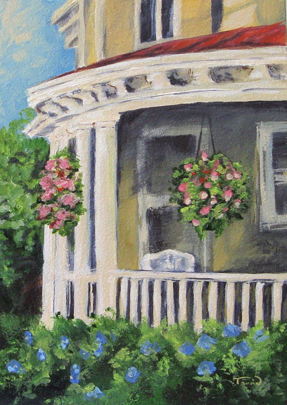 """Porch"" original fine art by Torrie Smiley"