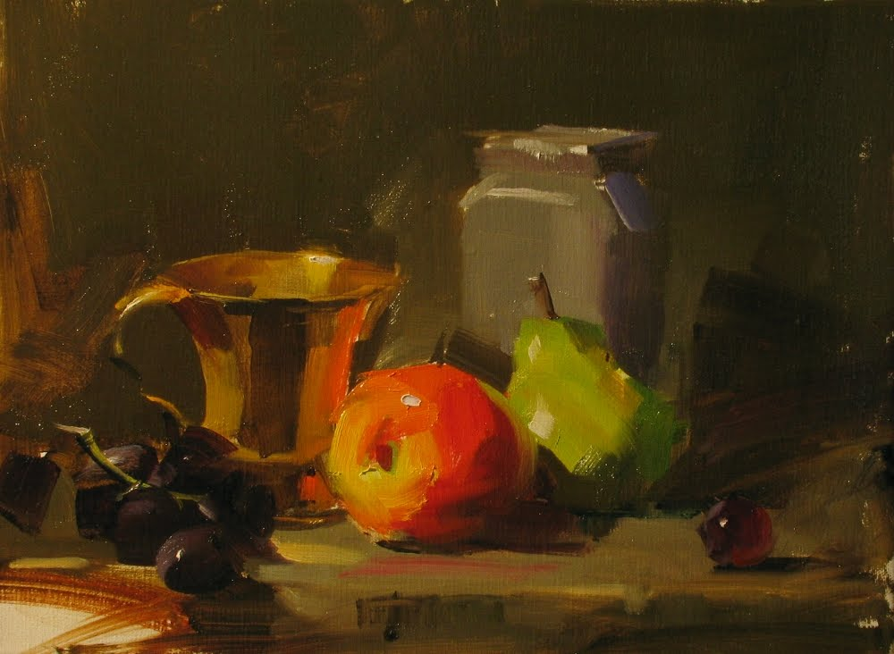 """""""Demo at Noblesville 1"""" original fine art by Qiang Huang"""