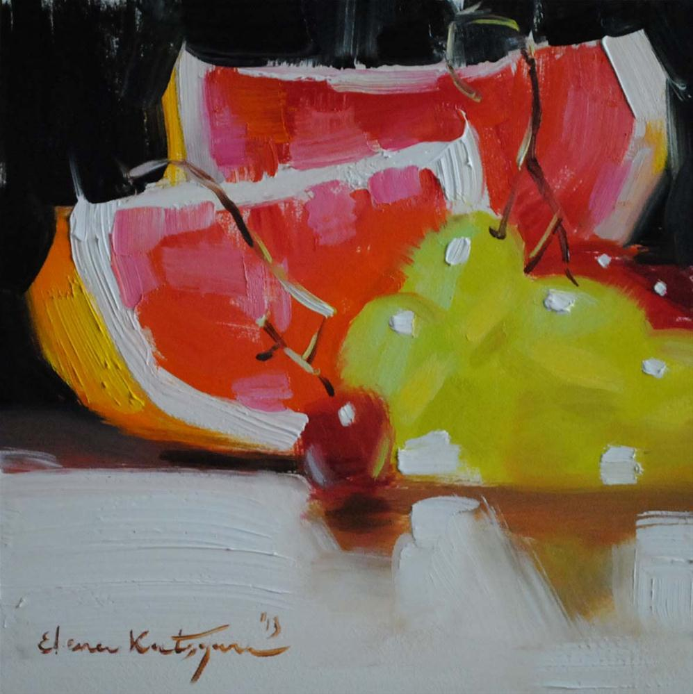 """Colorful"" original fine art by Elena Katsyura"