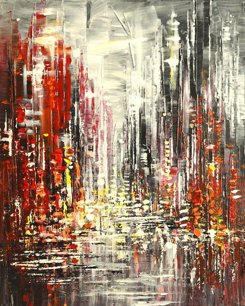 """Ornamental Avenue"" original fine art by Tatiana Iliina"