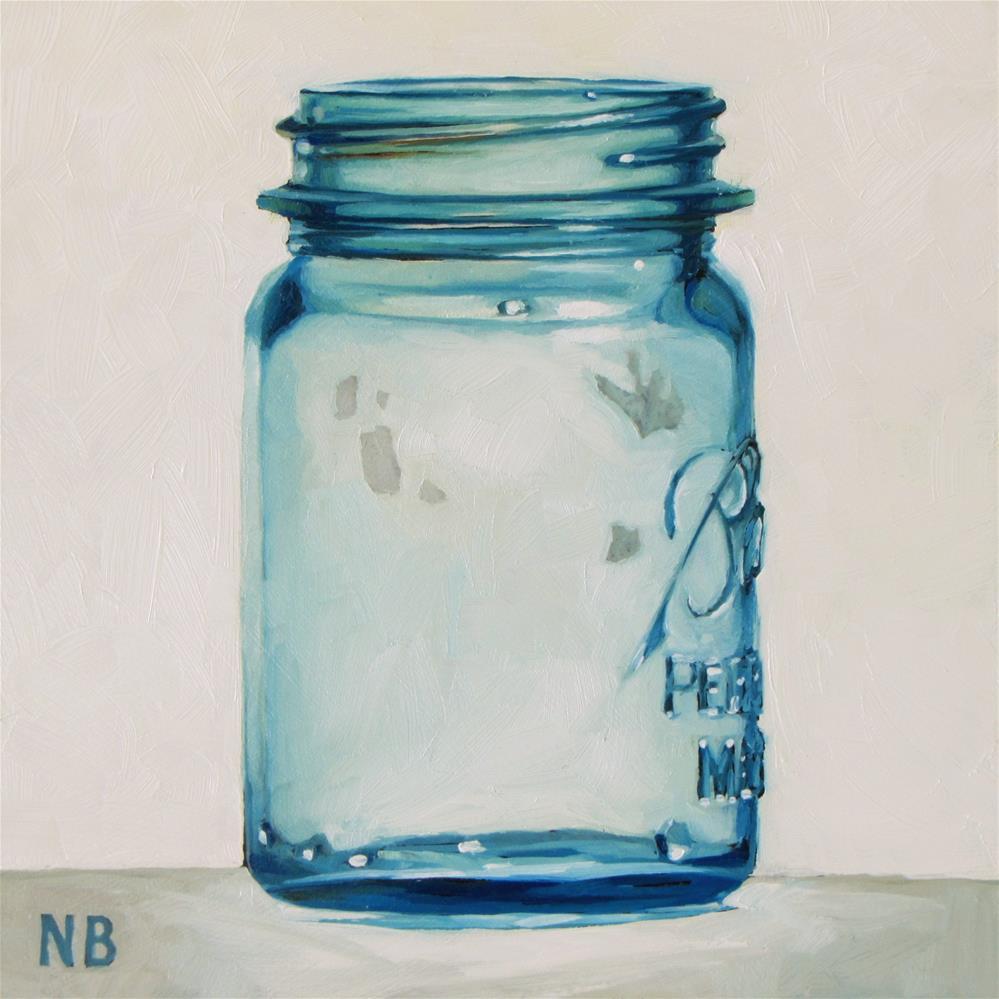 """B is for Ball"" original fine art by Nora Bergman"
