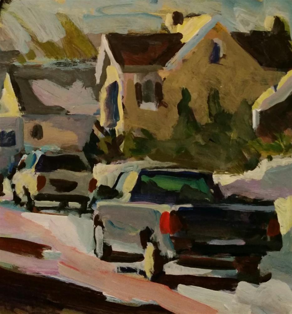 """""""Untitled"""" original fine art by Liz Maynes"""