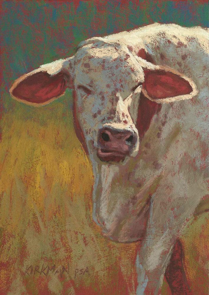 """Freckles"" original fine art by Rita Kirkman"