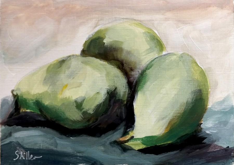 """1879 More Pears"" original fine art by Dietmar Stiller"
