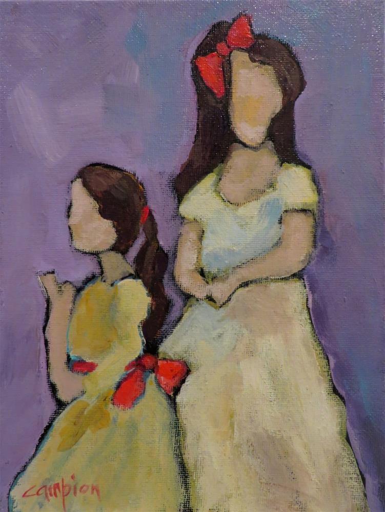 """707 Sisters"" original fine art by Diane Campion"