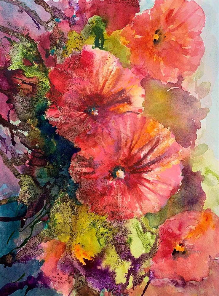 """Flowers & Magic"" original fine art by Melissa Gannon"