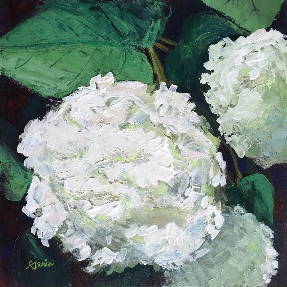 """""""Hydrangea"""" original fine art by Andrea Jeris"""