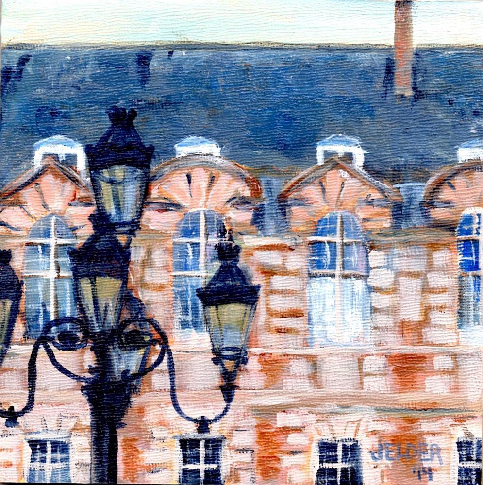 """Paris No. 49"" original fine art by Judith Elder"