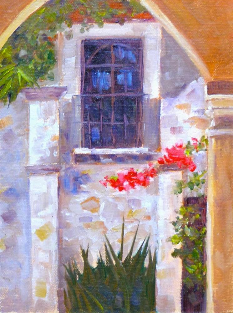 """San Miguel de Allende, 6x8 Oil on Canvas"" original fine art by Carmen Beecher"
