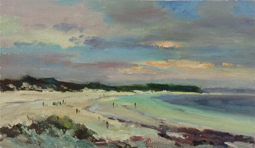 """Sunny Day St Ives"" original fine art by John Shave"