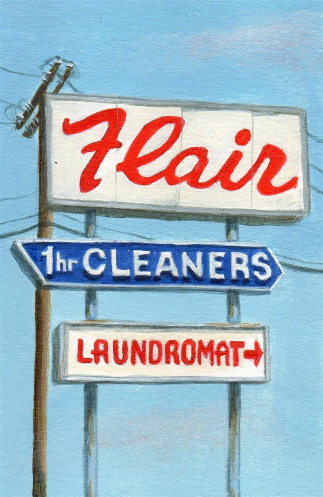 """""""Flair"""" original fine art by Debbie Shirley"""
