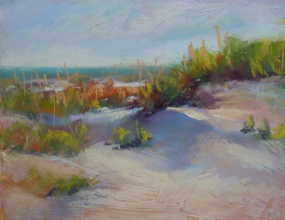 """Dunes in the Morning"" original fine art by Karen Margulis"