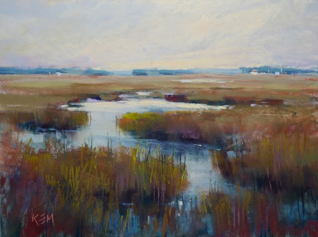 """""""My Favorite Tips for Painting Foregrounds"""" original fine art by Karen Margulis"""