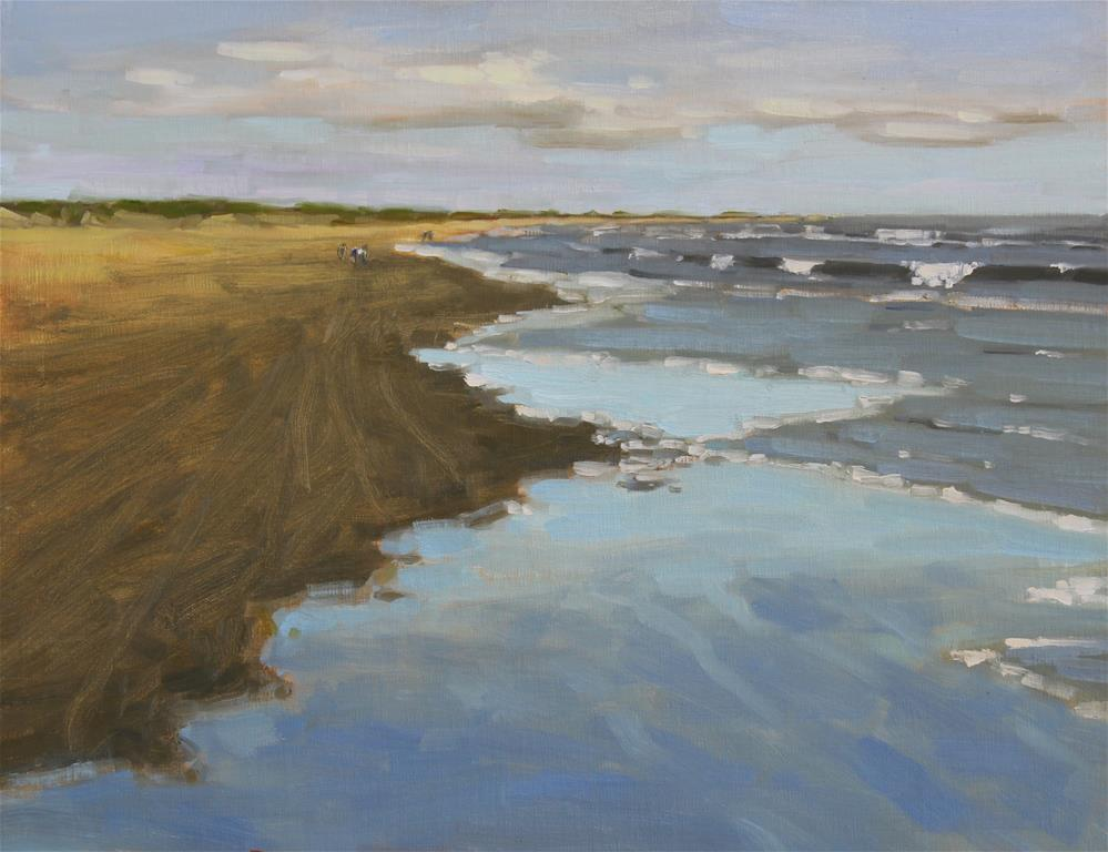 """The East Beach"" original fine art by Colleen Parker"