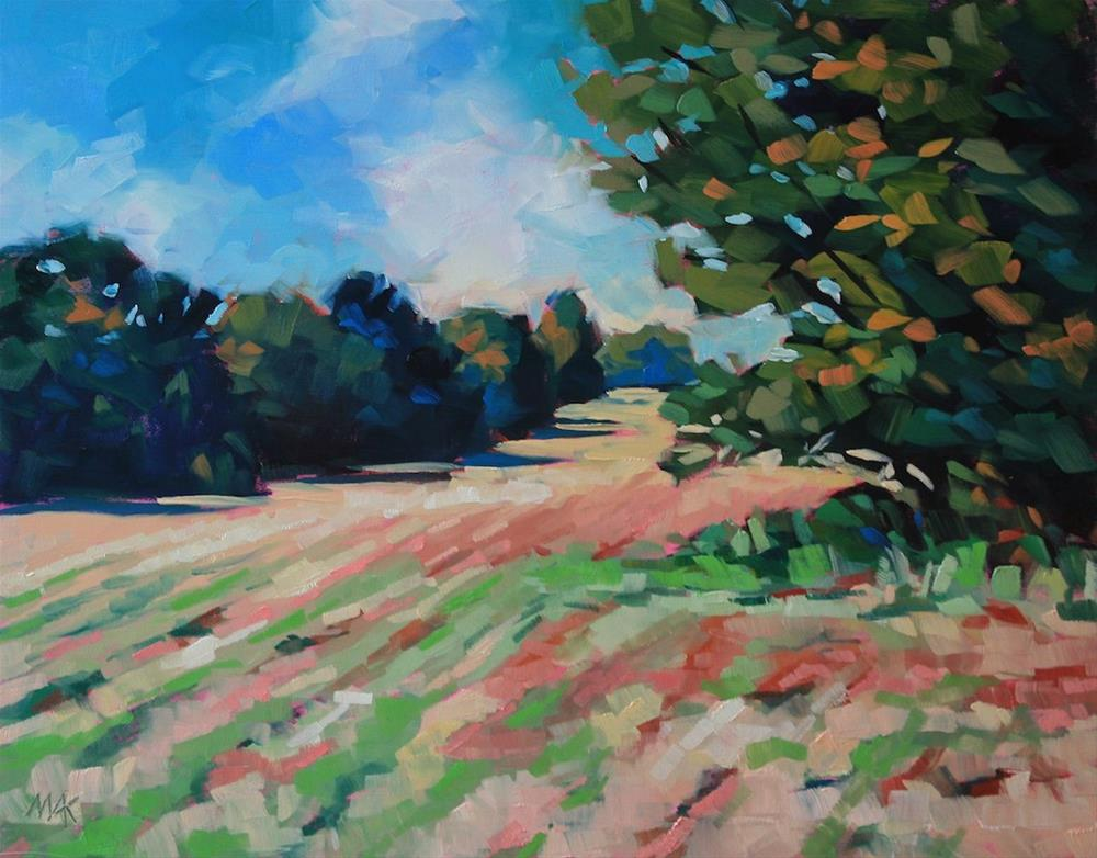 """""""Robinson Woods"""" original fine art by Mary Anne Cary"""