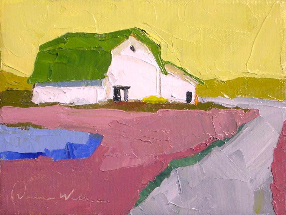 """Simple Living III"" original fine art by Donna Walker"