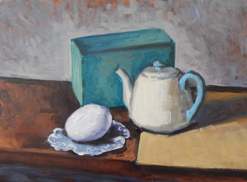 """Slanted Still Life"" original fine art by Megan Schembre"