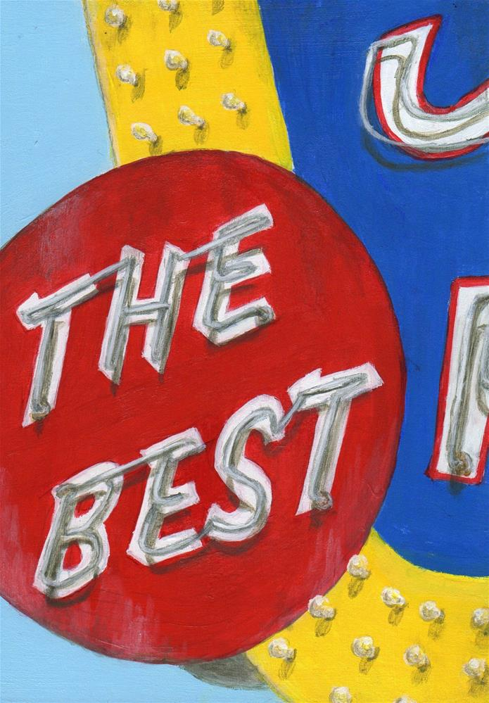 """The Best (Skips)"" original fine art by Debbie Shirley"